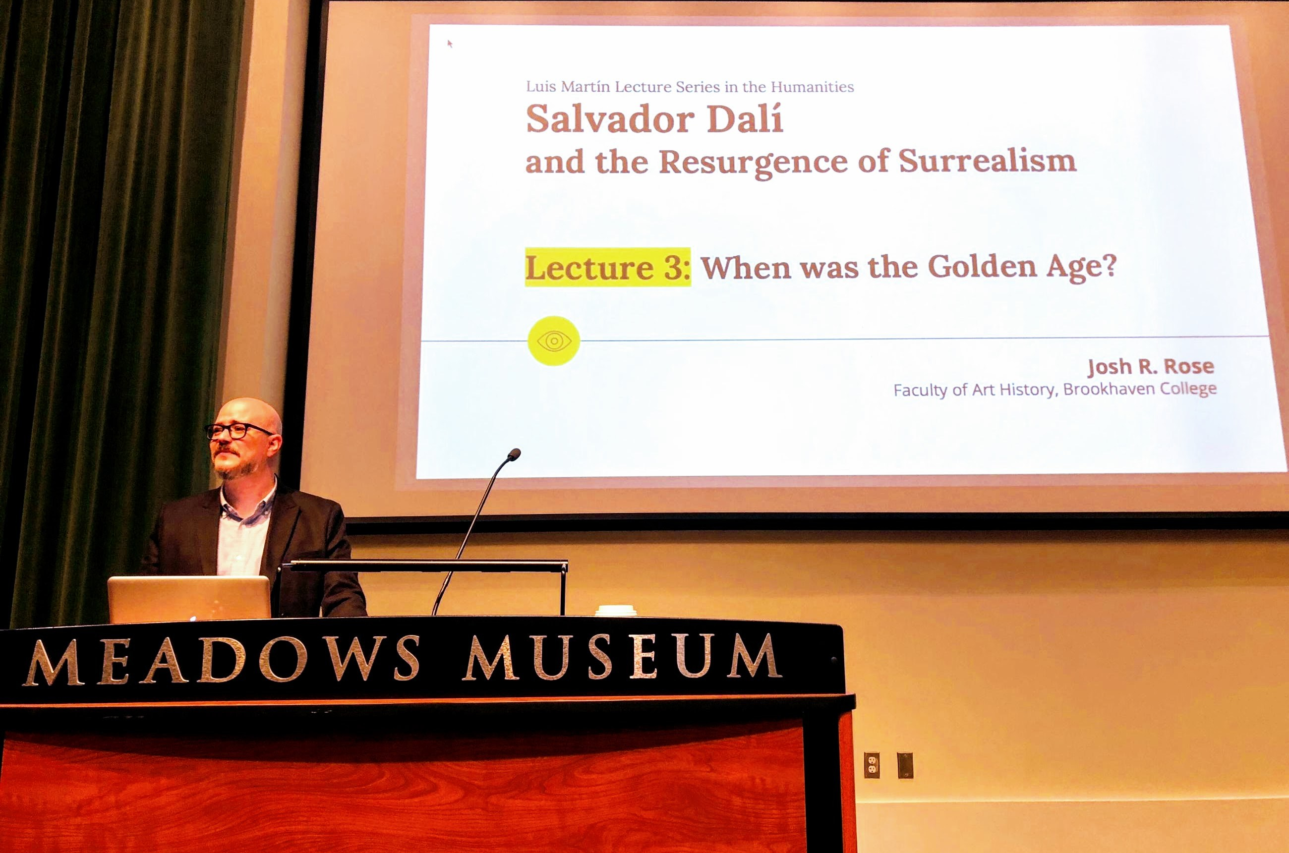 Presenting at the Meadows Museum